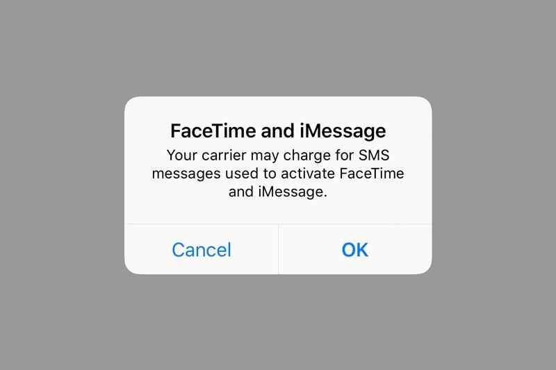 Aktivasi iMessage