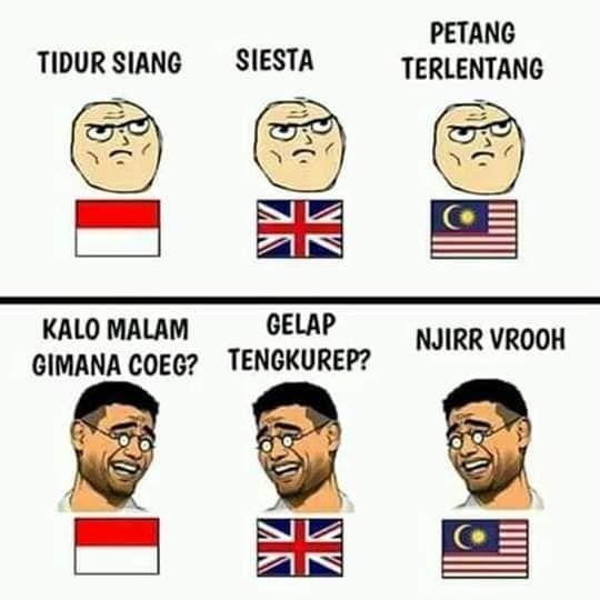 Meme Indonesia Dan Malaysia