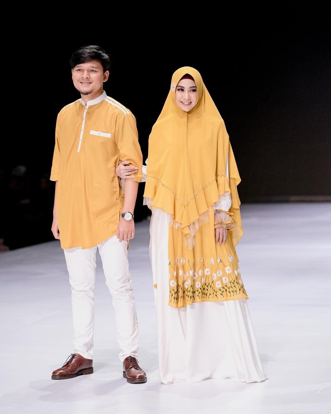 Cool Model Baju Gamis Couple Lebaran 2019   Busana Trends