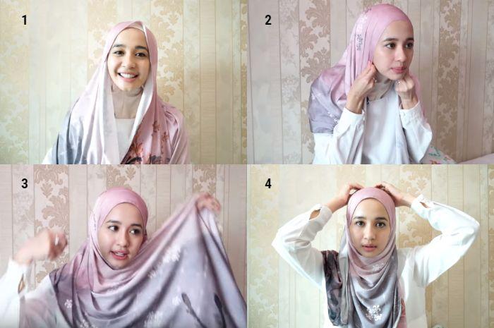Tips Modis Lebaran 2019 Tutorial Hijab Simpel Bergaya Malaysian Ala Laudya Cynthia Bella Semua Halaman Stylo