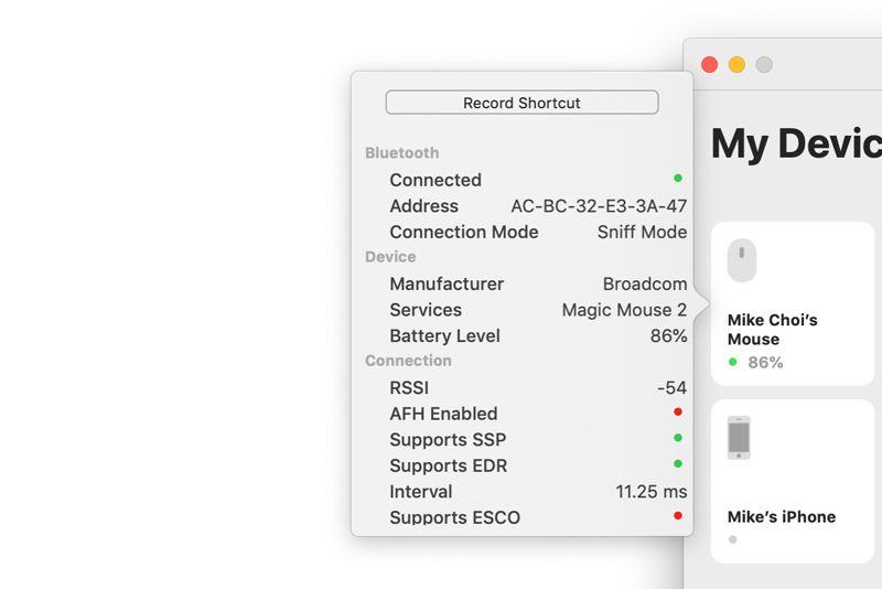 Bluetooth Manager Mac