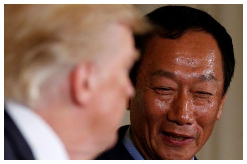 Pendiri Foxconn, Terry Gou Kunjungi Wisconsin dan Bertemu Trump