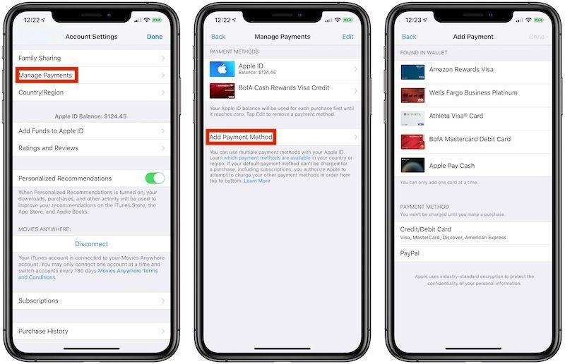 Pilihan pembayaran dengan Apple Pay