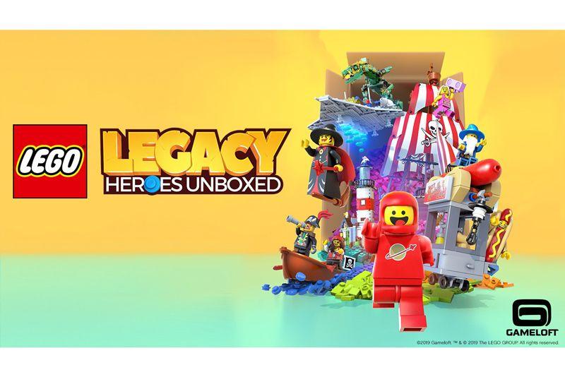 Gameloft dan LEGO Akan Meluncurkan LEGO Legacy: Heroes Unboxed