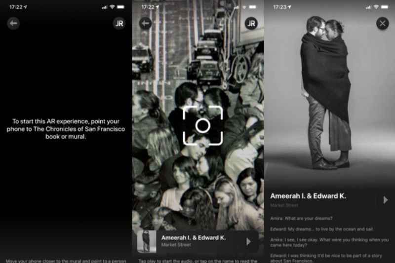 Tim Cook Pamerkan Nikmati Mural dengan Gunakan Aplikasi di iOS