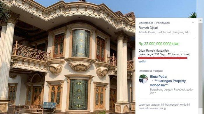 Desain Rumah Minimalis Yang Islami  kalah mewah dengan hunian muzdalifah yang seharga 32 miliar
