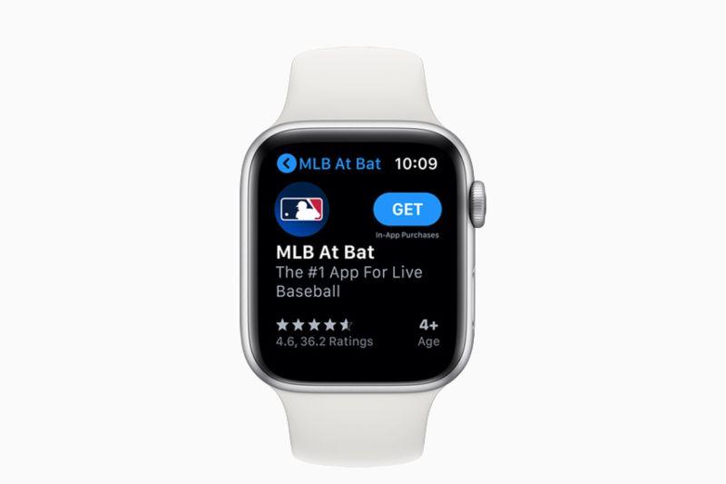 App Store mandir di Apple Watch