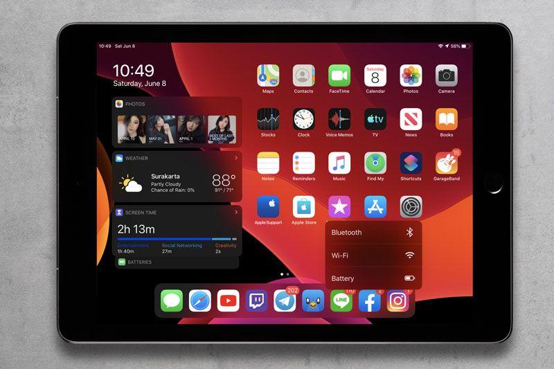 Haptic Touch di iPadOS 13
