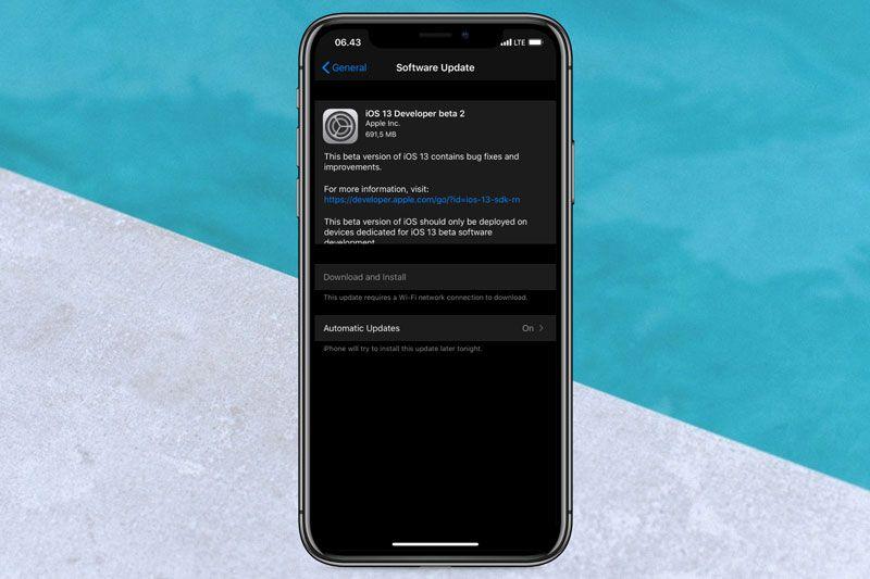 Daftar Lengkap Fitur Baru dan Perbaikan di iOS 13 Developer Beta 2