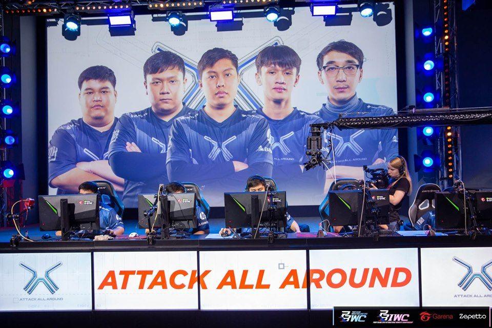 Gameplay Point Blank Thailand! Team AAA Kalahkan Team GZ