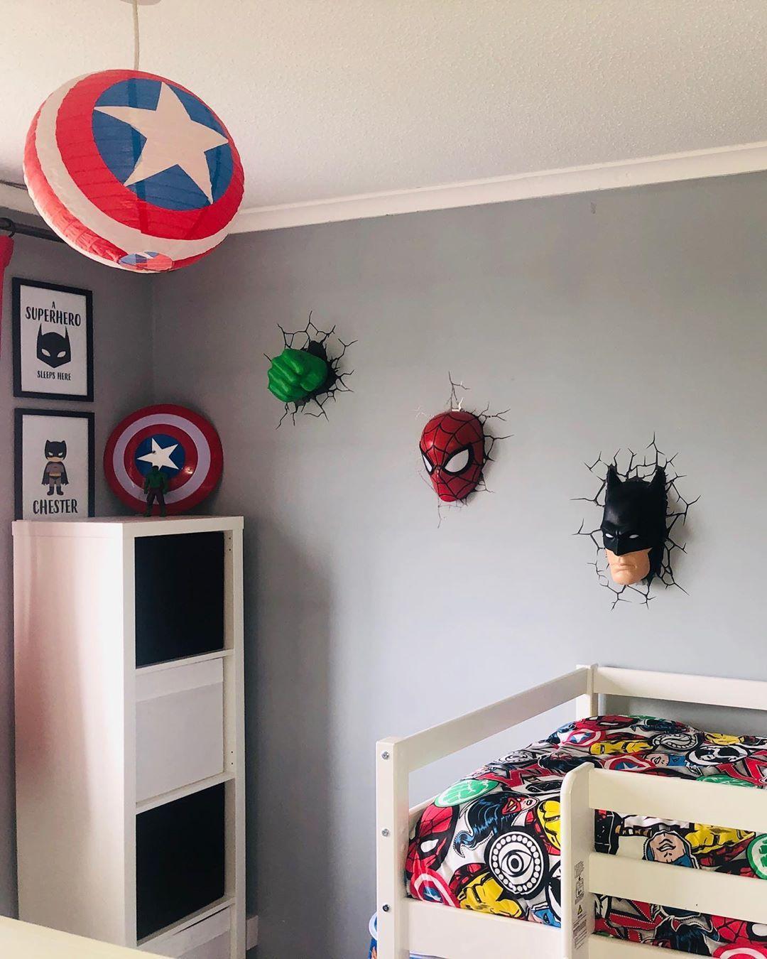 Demam Tom Holland Deretan Inpirasi Kamar Anak Bernuansa Spiderman Ini Bisa Buat Kamu Iri Semua Halaman Idea