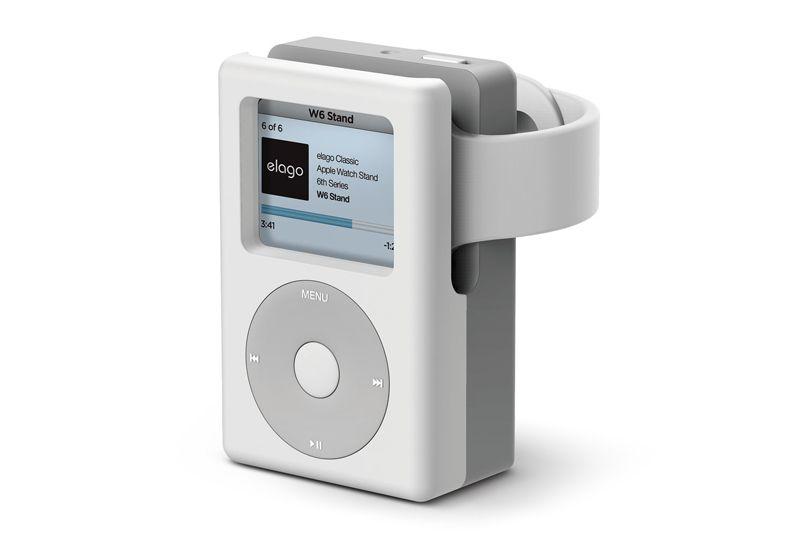 Nostalgia iPod Classic dengan Aksesoris Watch Stand Elago W6