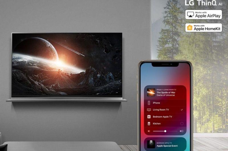 LG Klaim Produksi TV Tahun 2019 Mampu Mendukung AirPlay 2 dan HomeKit