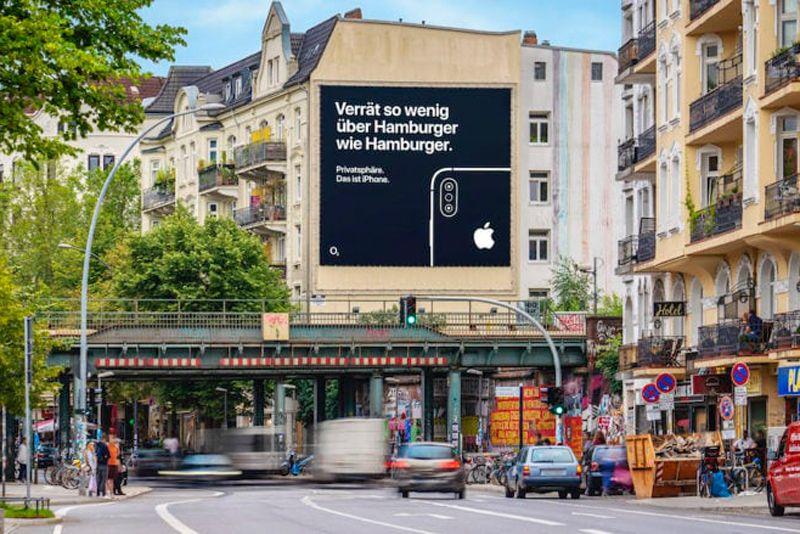 Papan Iklan Bertema Privasi untuk iPhone Merambah Wilayah Eropa