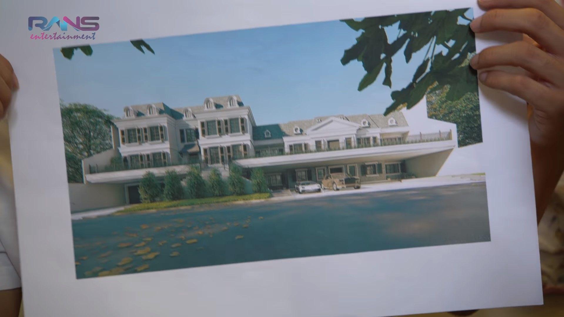Terungkap Desain Rumah Baru Raffi Ahmad Mewah Bagai Istana