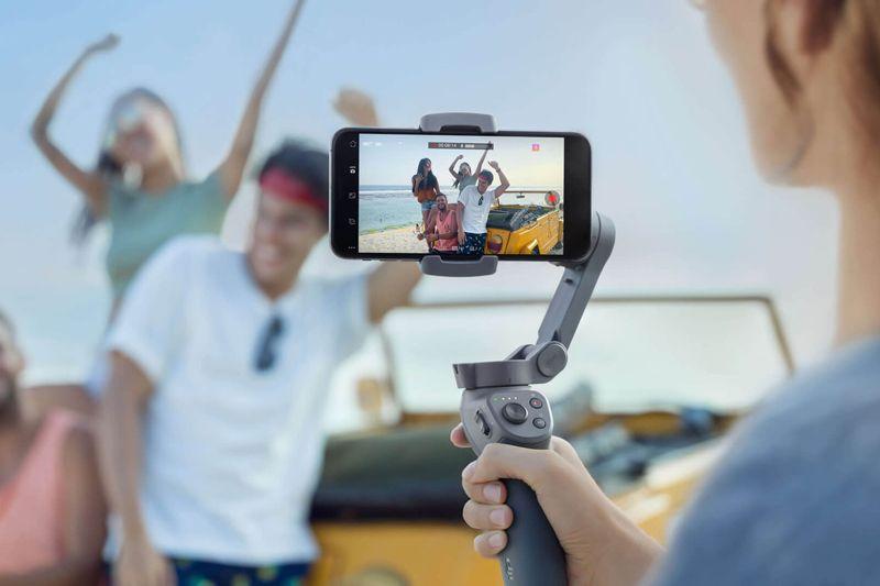 DJI Rilis Osmo Mobile 3, Aksesoris Gimbal Smartphone yang Bisa Dilipat