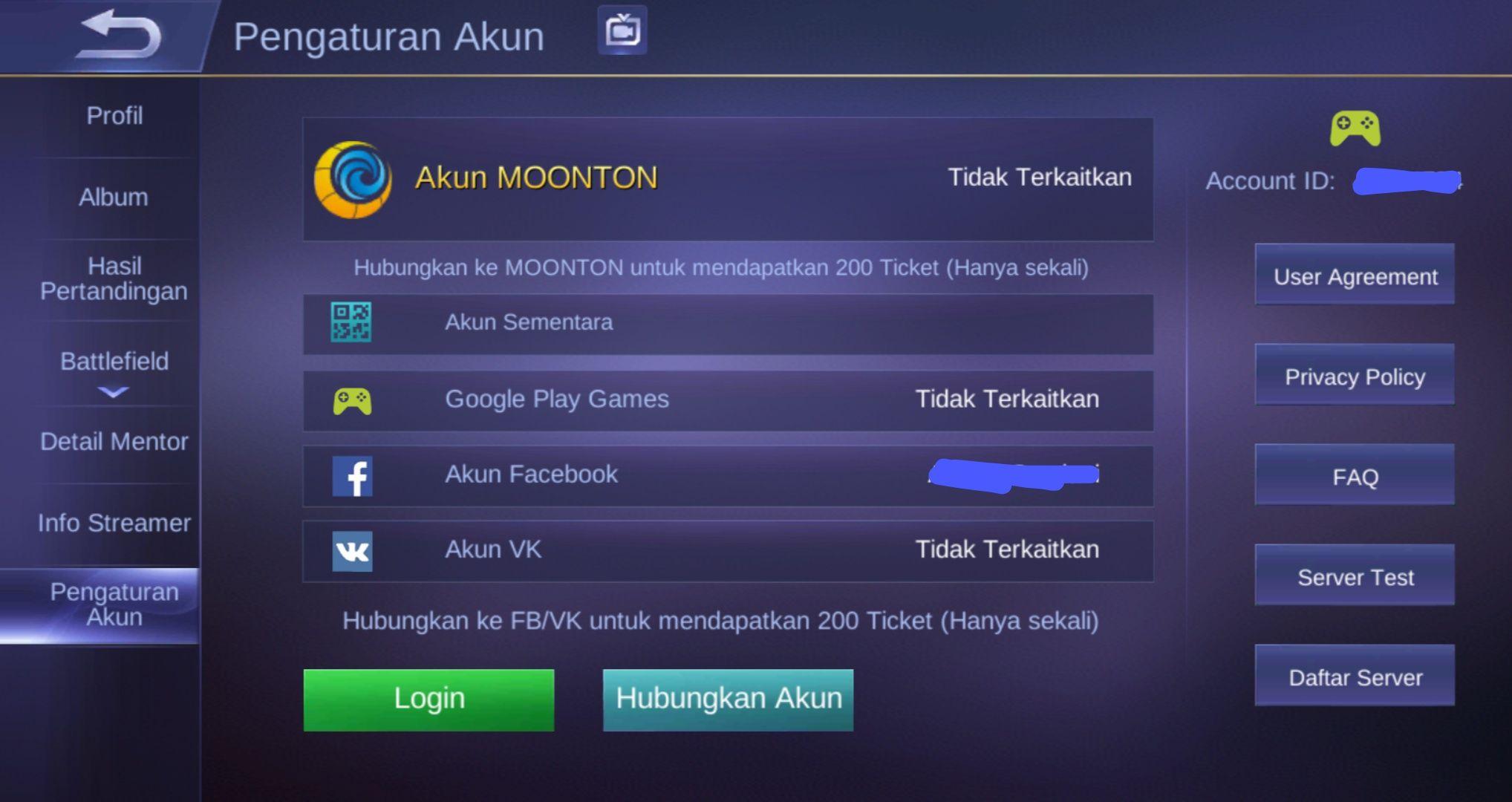 Ini Cara Mengembalikan Akun Mobile Legends Yang Hilang Setelah Update Versi Cepat Semua Halaman Grid Games