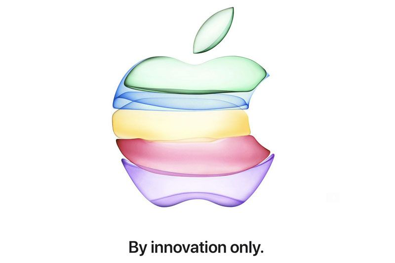 Apple Bagikan Undangan Apple Event 10 September 2019: 'By Innovation Only'