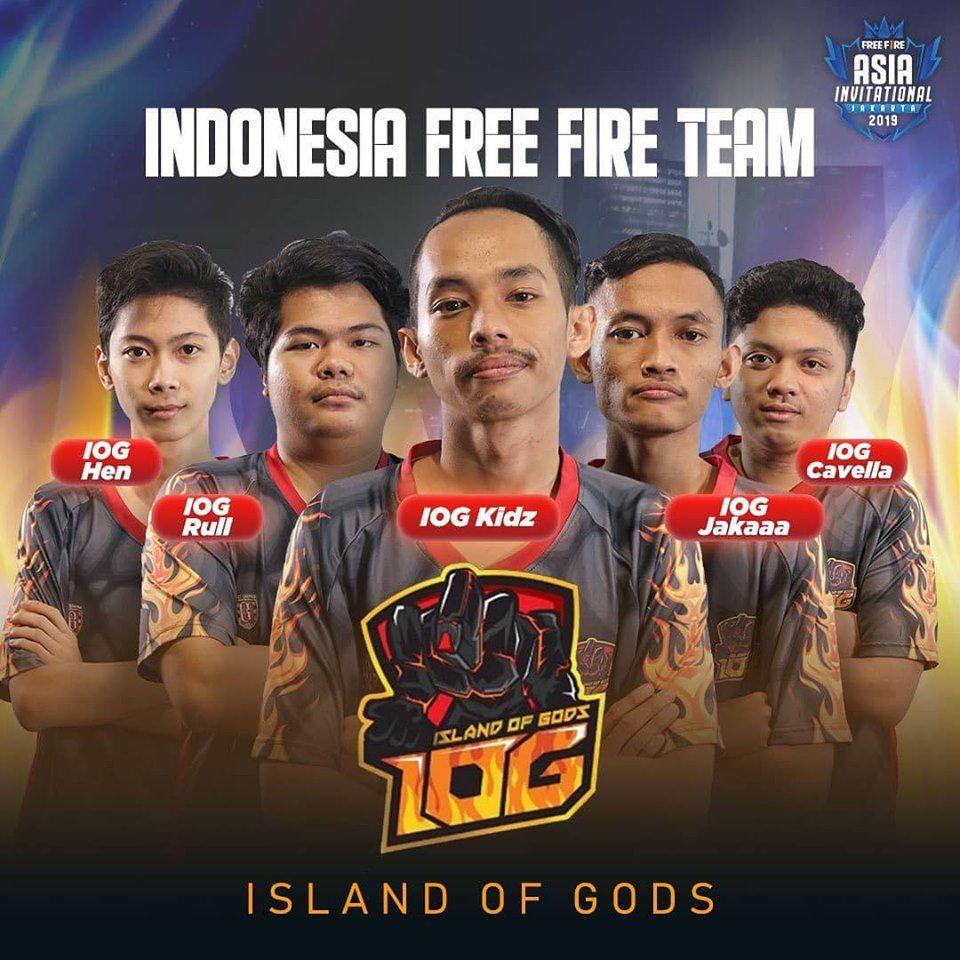 Ini Dia Profil 3 Perwakilan Indonesia Di Free Fire Asia Invitational Semua Halaman Grid Games