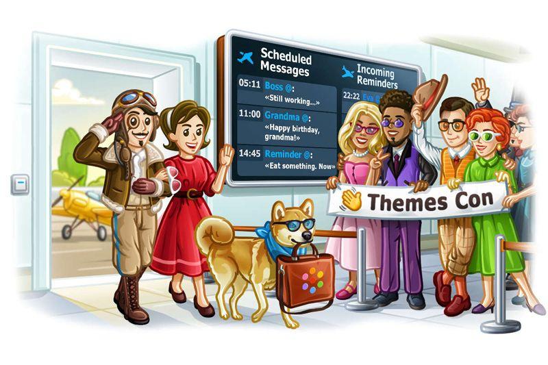 Telegram Messenger Rilis Fitur Penjadwalan Pesan dan Membuat Tema