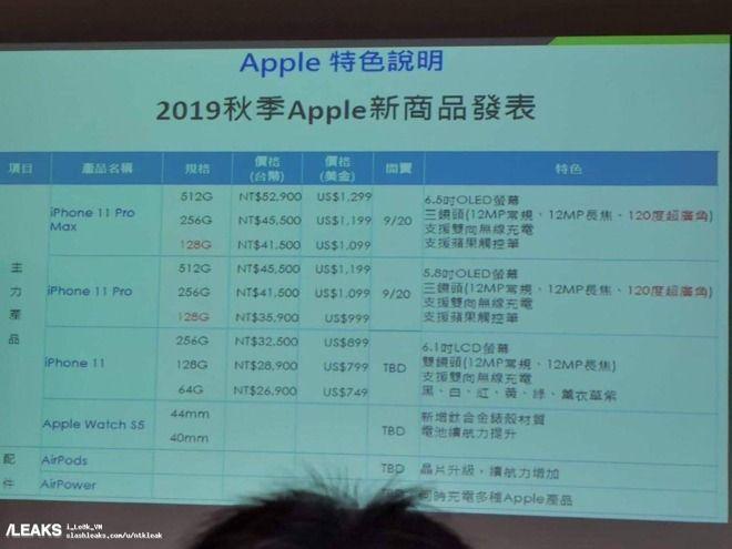 Bocoran harga iPhone 11 series