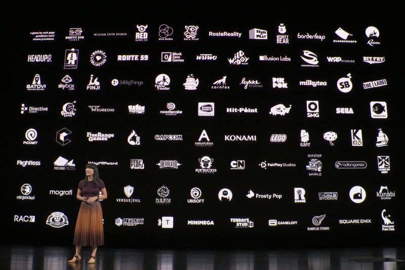 Puluhan developer yang bergabung bersama Apple Arcade