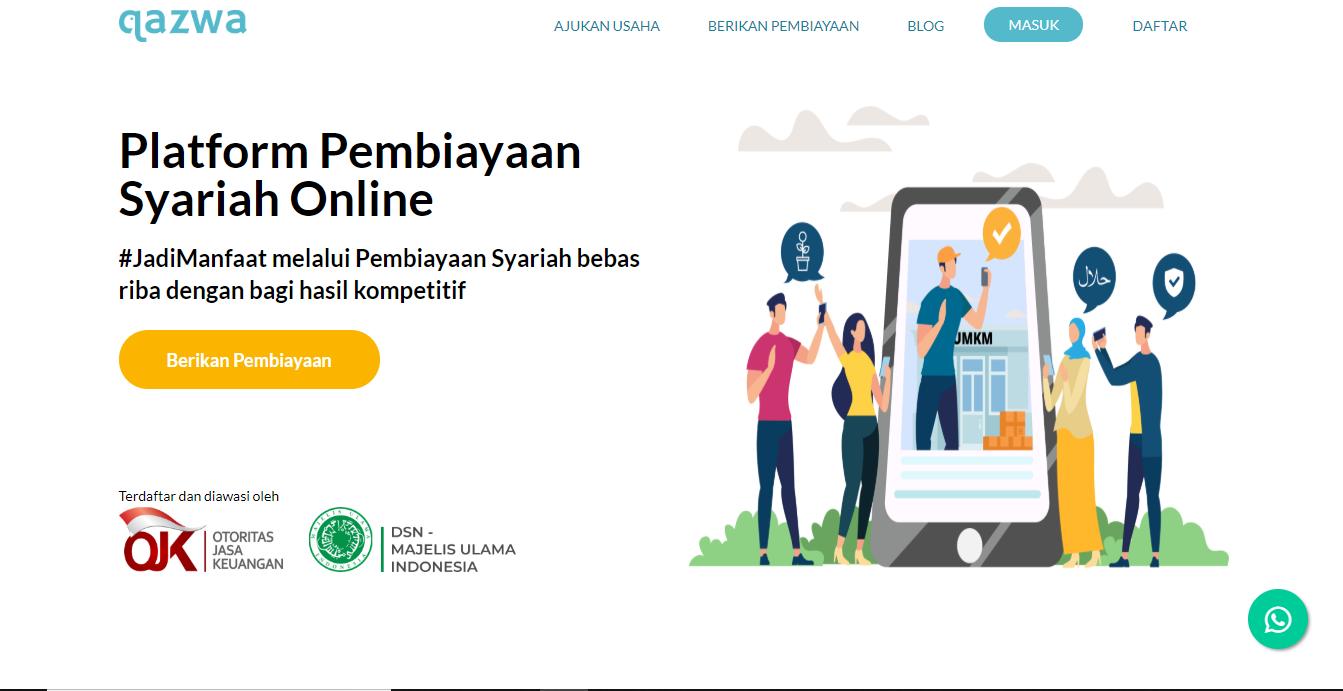 Terdaftar Di Ojk Inilah Deretan Fintech Syariah Di Indonesia