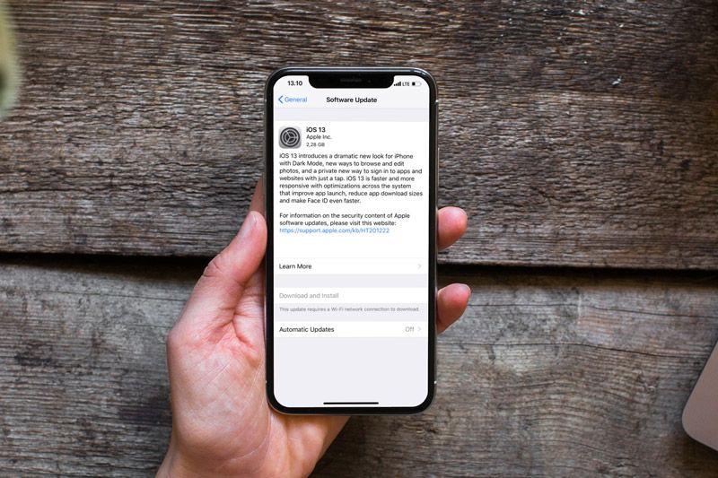 OTA Updates iOS 13