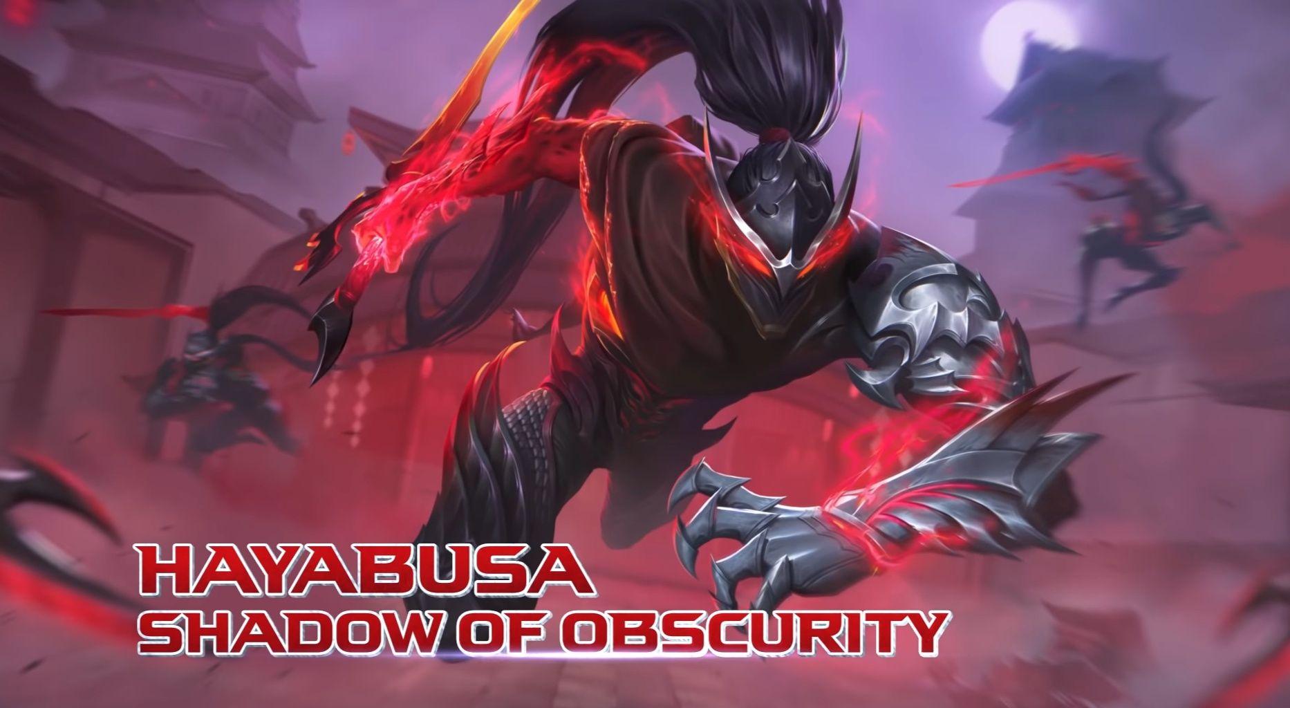 Kerennya Efek Visual Skin Hayabusa Mobile Legends Shadow Of Obscurity Semua Halaman Grid Games