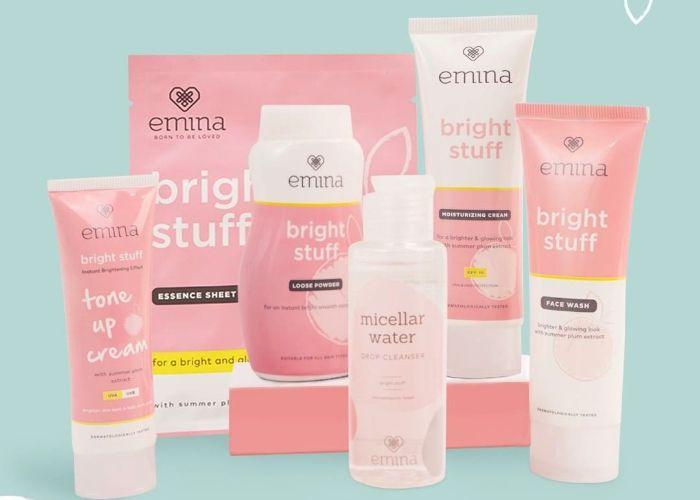 Emina, Skincare untuk Remaja Pemula