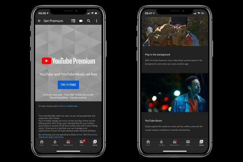 YouTube Premium dan YouTube Music Hadir di Regional Indonesia - Semua  Halaman - MakeMac