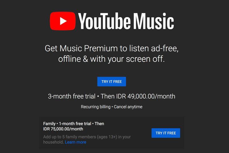Kupas Tuntas Youtube Premium Dan Youtube Music Layak Dicoba Semua Halaman Makemac