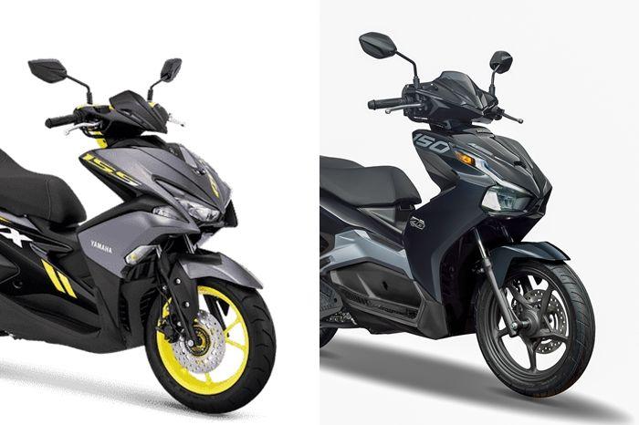 Jadi Musuh Berat Yamaha Aerox Honda Air Blade 150 2020 Cuma