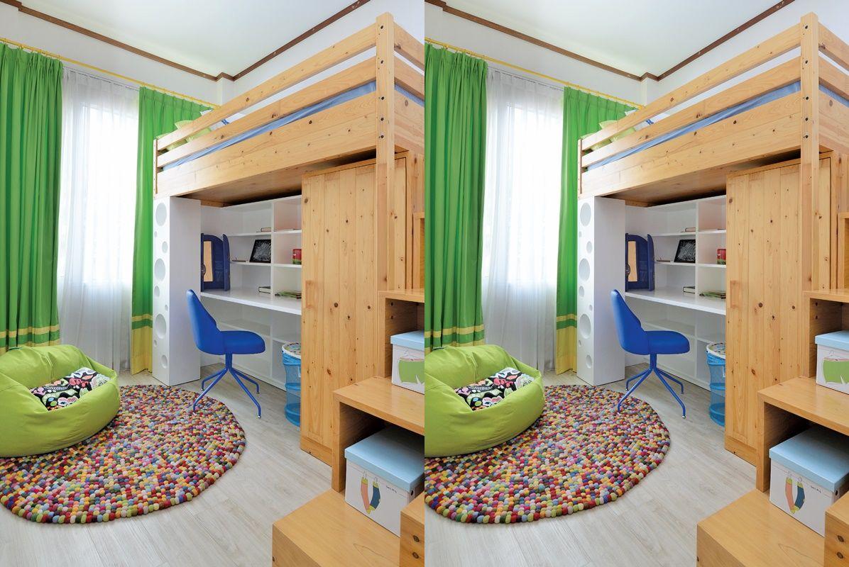 Seluas 2x3 Meter Begini Ide Kamar Anak Di Apartemen Sempit Gunakan Tangga Semua Halaman Idea