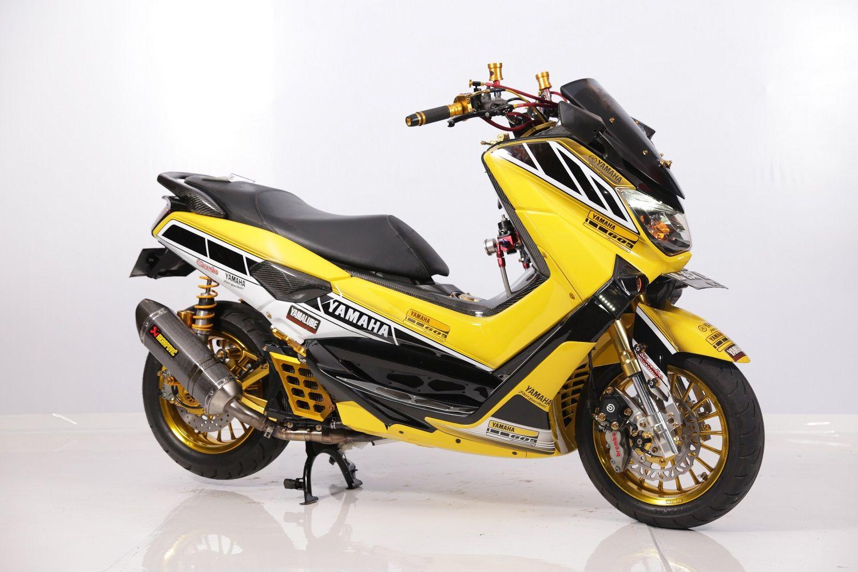 Bikin Terpana Modifikasi Yamaha Nmax Juara Customaxi Solo 2020 Tengok Deh Livery Nya Motorplus