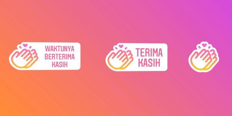 Keren Ucapkan Terima Kasih Untuk Pahlawan Covid 19 Instagram Hadirkan 3 Stiker Baru Sudah Coba Semua Halaman Kids
