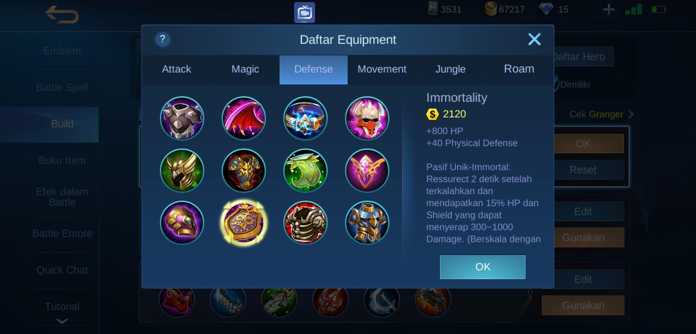 Dijamin GG Ini Dia Build Dyrroth Mobile Legends Tersakit 20 ...