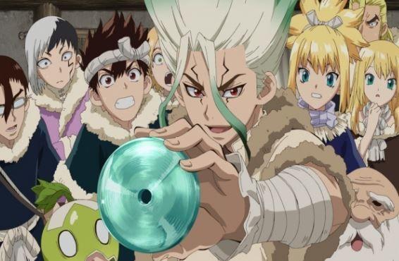 Dr Stone Anime Episode 1