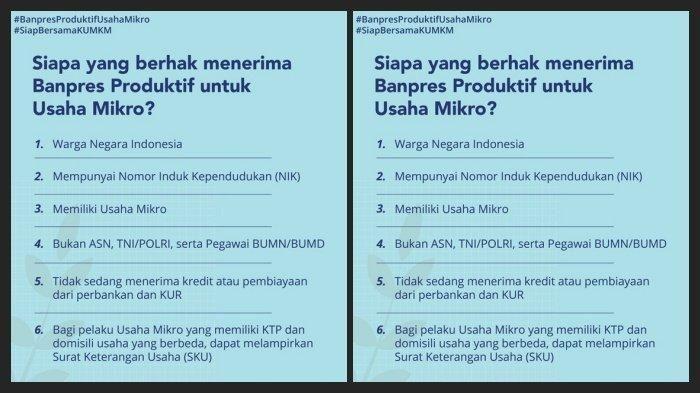 Pendaftaran Online Ditutup Ini Cara Baru Dapat Rp 2 4 Juta Bantuan Pemerintah Untuk Modal Usaha Semua Halaman Motorplus