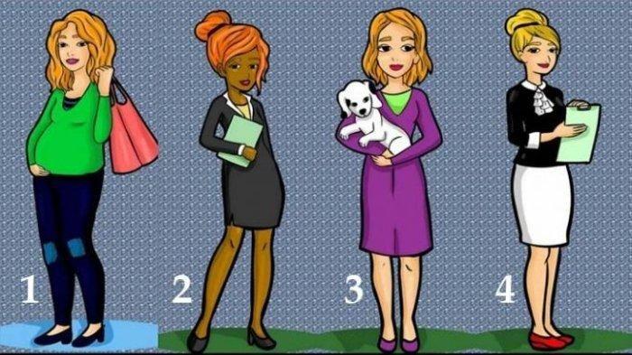 Tes Kepribadian Dari Keempat Wanita Dalam Gambar Ini Mana Yang Kamu Pilih Semua Halaman Hype