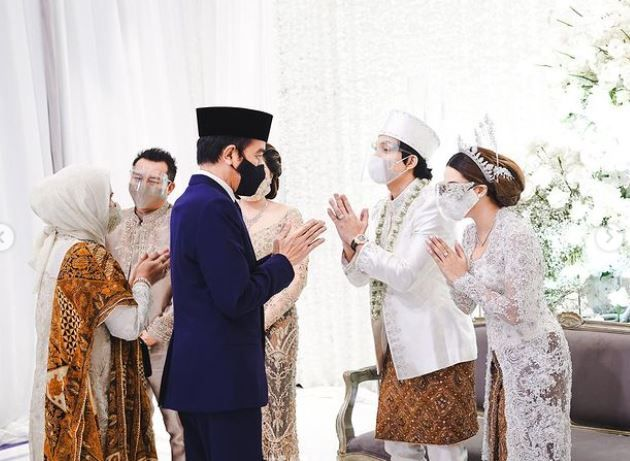 Pernikahan Atta-Aurel yang dihadiri Presiden Jokowi