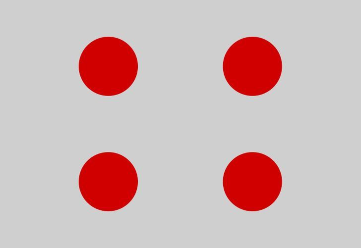 Sambungkan 4 titik ini dengan hanya 3 garis