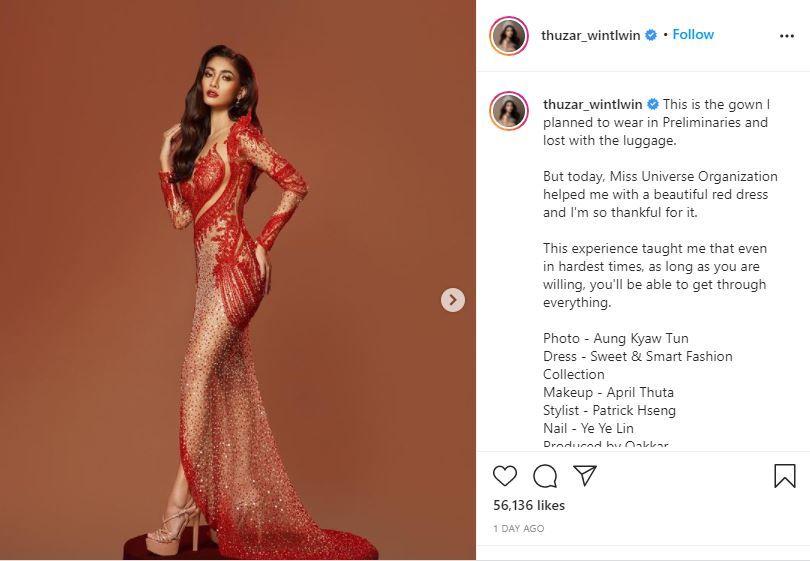 Miss Myanmar, Thuzar Wint Lwin