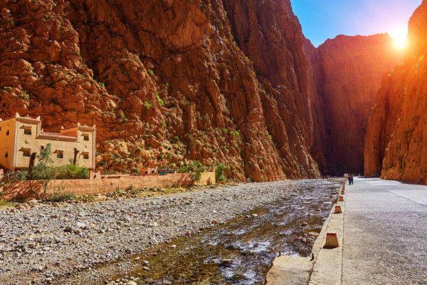 Ngarai Todra Gorge, Maroko