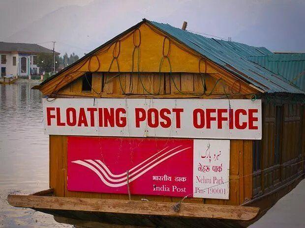 Kantor Pos terapung di India