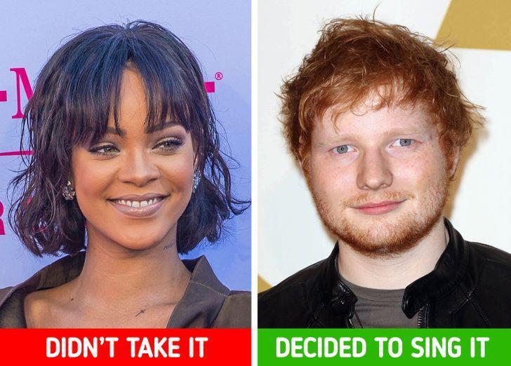 Rihanna dan Ed Sheeran