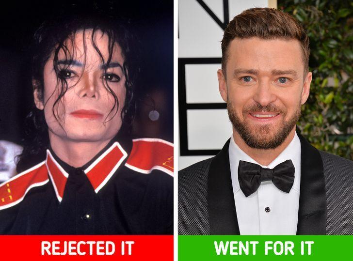 Michael Jackson dan Justin Timberlake