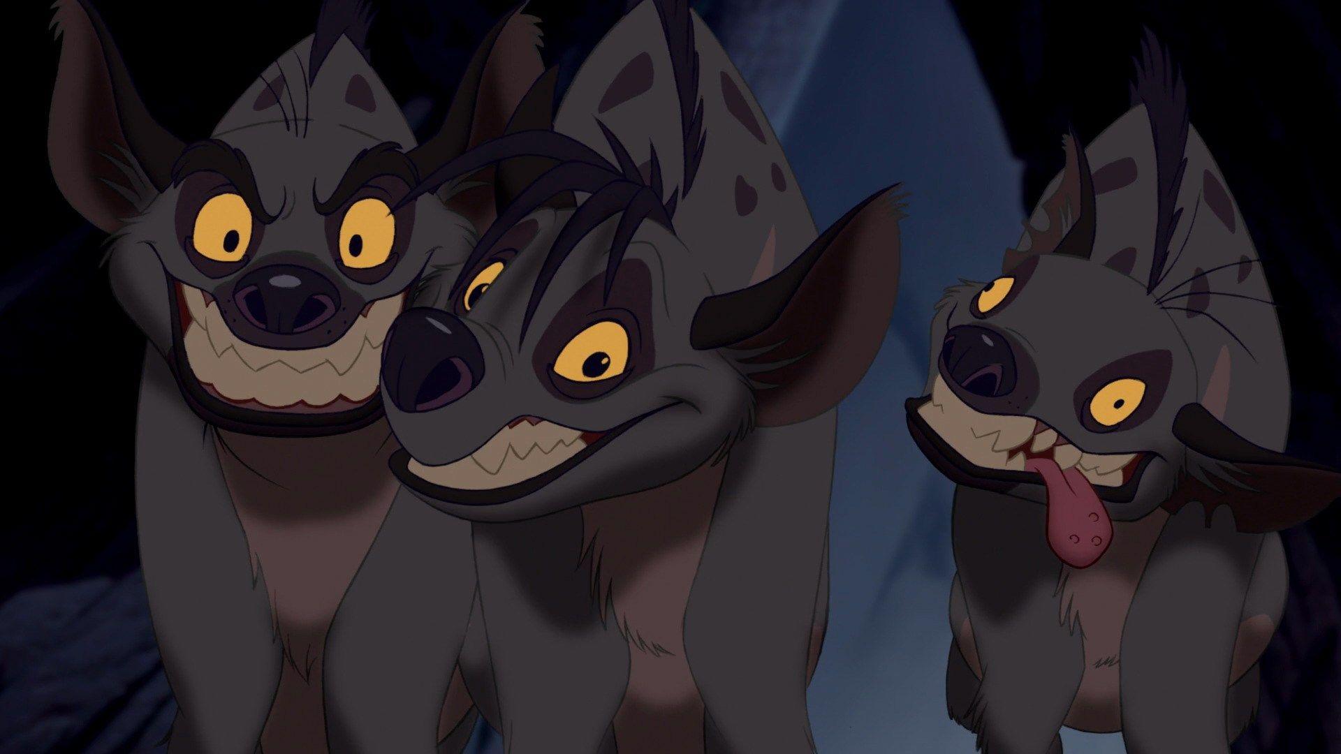 Hyena di The Lion King