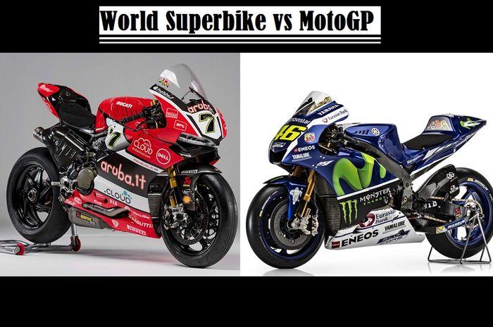 World Superbike vs MotoGP