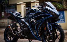 Mirip Motor Masa Depan, Saudara Yamaha R25 Bisa Nyala di Kegelapan
